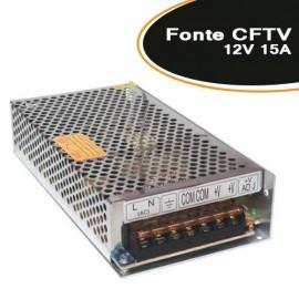 Fonte para CFTV / FITA LED / ELETRÔNICA 12V 15A - Empire