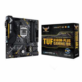 Placa Mãe Asus TUF B360M-PLUS-G Intel 1151 8/9Ger DDR4 mATX